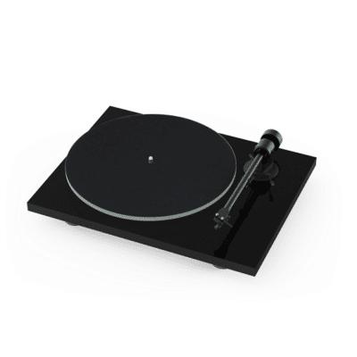 Pro-Ject T1 Giradischi manuale con braccio e testina Ortofon OM 5e Black