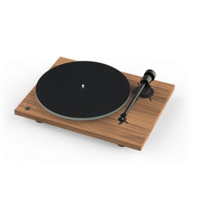 Pro-Ject T1 Phono SB Giradischi manuale con braccio e testina Ortofon OM 5e Walnut