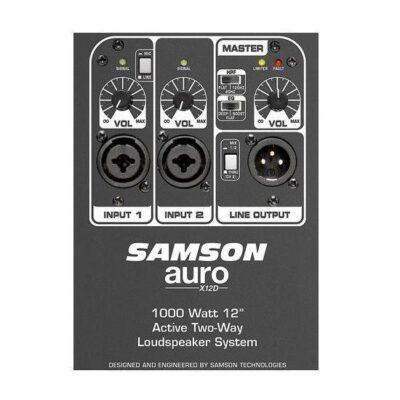 """Samson  Auro X12D Diffusore Attivo a 2 vie 1000W woofer 12"""""""