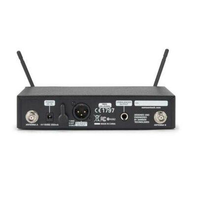 Samson Concert 99 Handheld Sistema wireless UHF con microfono dinamico Q8 (banda D)