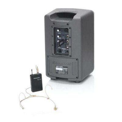 Samson Expedition XP106wDE PA Portatile con sistema wireless per cuffie e Bluetooth