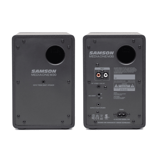Samson MediaOne M30 Coppia monitor attivi 1 x 3''