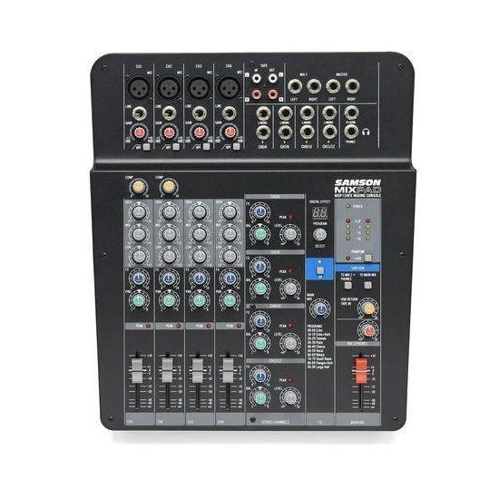 Samson MixPad® MXP 124FX Mixer Stereo Analogico Compatto a 12 ingressi con effetti e USB
