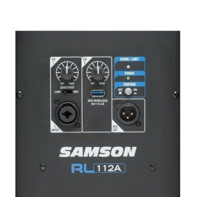 """Samson RL112A Diffusore Attivo a 2 vie 800W woofer 12"""""""