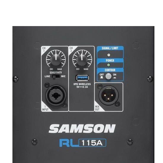"""Samson RL115A Diffusore Attivo a 2 vie 800W woofer 15"""""""