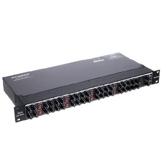 Samson SM10 Mixer di Linea Rackmount 10 Canali