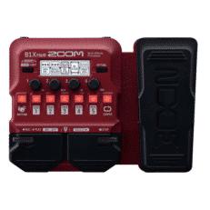 Zoom B1XFOUR Pedaliera multieffetto per basso con pedale d'espressione
