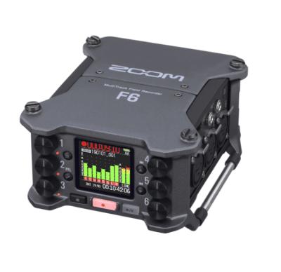 Zoom F6 Registratore multitraccia 6 canali