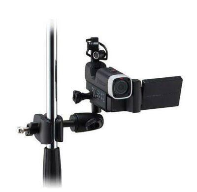 Zoom MSM1 Clip montaggio per Q4 su asta microfonica