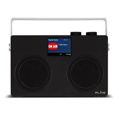 RLine SounDAB TWO Radio analogica e digitale Bluetooth Nera 1