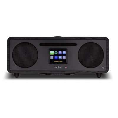 RLine Play S3 Radio Digitale Bluetooth Lettore CD Black Berlin 1