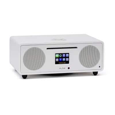RLine Play S3 Radio Digitale Bluetooth Lettore CD White Nashville