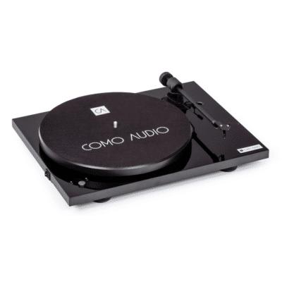 Como Audio Turntable Giradischi trazione a cinghia Bluetooth Black