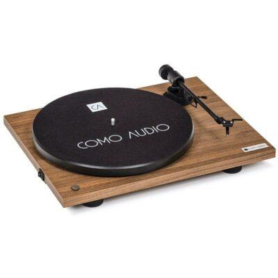 Como Audio Turntable Giradischi Walnut