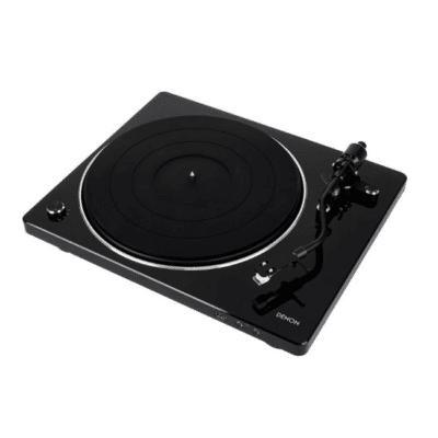 Denon DP-450USB Giradischi USB Black Gloss