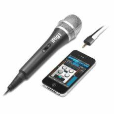 IK MULTIMEDIA iRig MIC Microfono palmare per sistemi Android, iOS e MAC