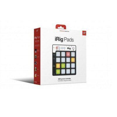 IK Multimedia iRig Pads Midi Groove Controller per iOS ANDROID PC MAC