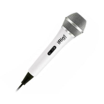 IK MULTIMEDIA iRig Voice Microfono Palmare per sistemi Android, Ios e Mac White