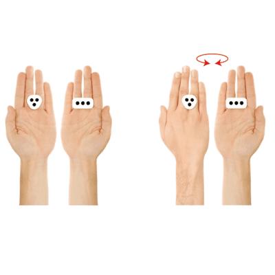 IK MULTIMEDIA iRing Controller a movimento per iOS White