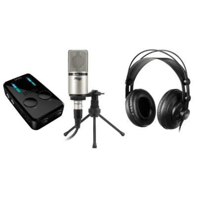 IK Multimedia Prod UO Studio Suite BDL Kit Produzione registrazione