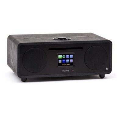 RLine Play S3 Radio Digitale Bluetooth Lettore CD Black Berlin