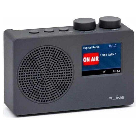 RLine SounDAB ONE Radio analogica e digitale portatile Dark Grey