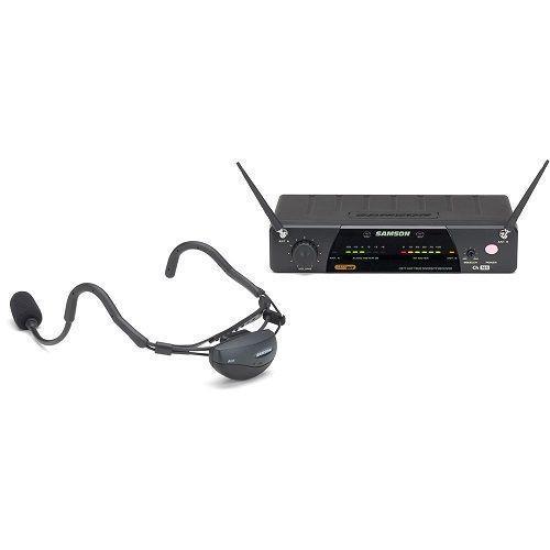 Samson AirLine 77 AH1 Vocal Headset Sistema Wireless Banda E1 (863.125 MHz)