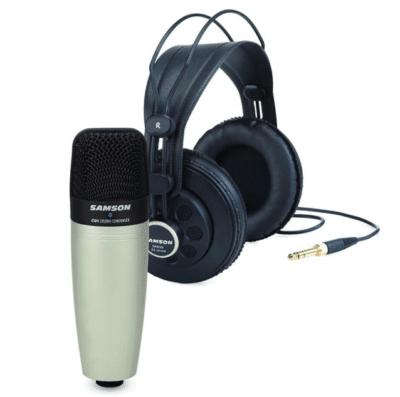 Samson C01/SR850 Microfono condensatore cardioide e cuffie