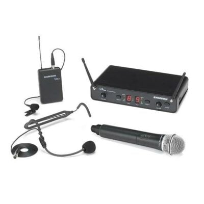 Samson Concert 288 UHF All-In-One dual system (HH+HS+Lavalier) - H (470-514 MHz)