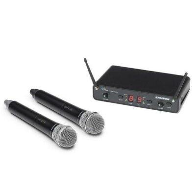 Samson Concert 288 UHF Dual Handheld System H (470-514 MHz)