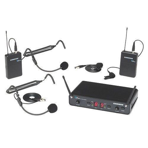 Samson Concert 288 UHF Dual Presentation System Banda J (606-654 MHz)