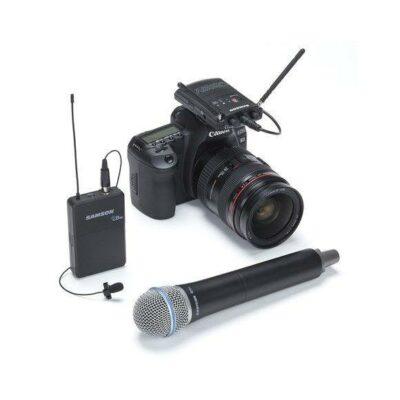 Samson Concert 88 UHF Camera Combo System in Banda F (606-630 MHz)