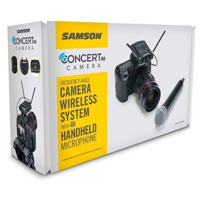 Samson Concert 88 UHF Camera Handheld System Banda F (606-630 MHz)