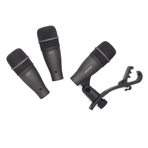 Samson DK703 Set di Microfoni per Batteria 3 pz