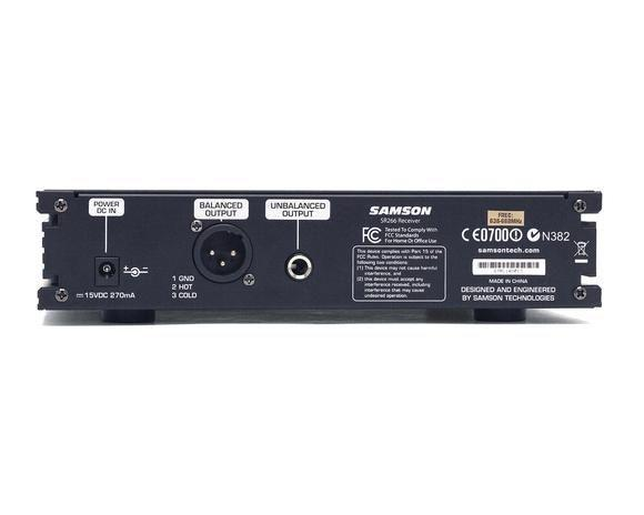 Samson SYNTH 7 UHF-C Handheld System Trasmettitore ricevitore e microfono wireless