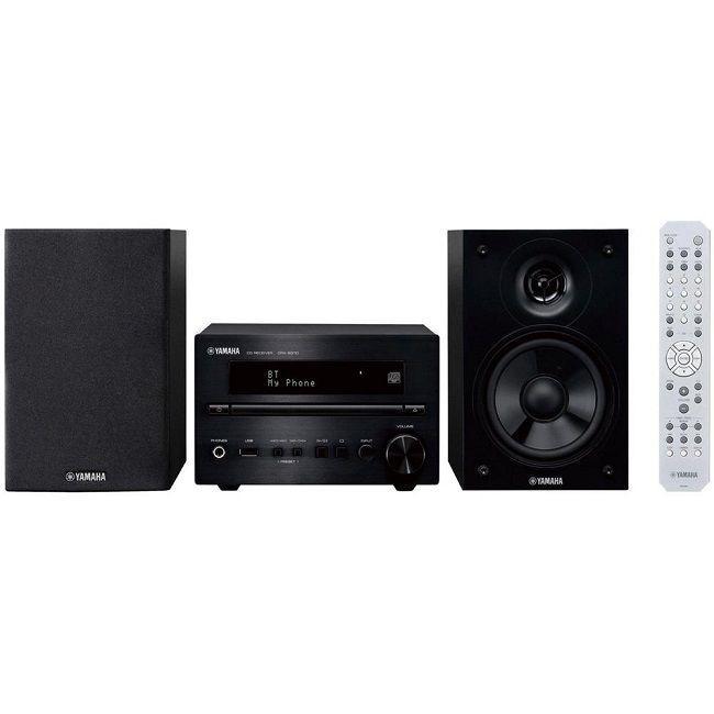 Yamaha MCR-B370 Sistema Micro Hi-Fi 20 + 20 WATT Bluetooth Black