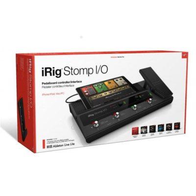 IK MULTIMEDIA iRig Stomp I/O Pedaliera MIDI interfaccia audio integrata