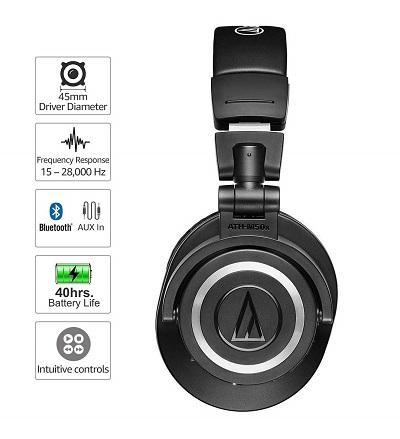 Audio-Technica ATH-M50XBT - 5