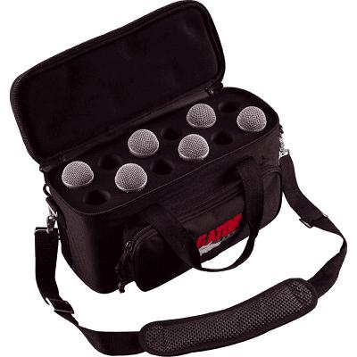 gator gm12b borsa per microfoni handheld