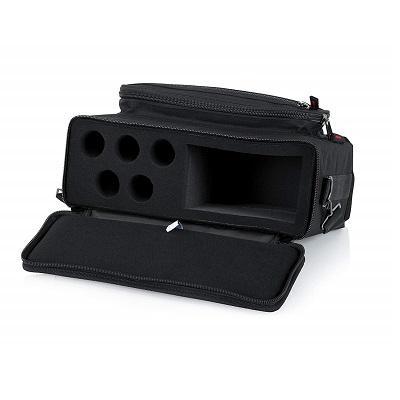 gator gm 5w borsa per sistema wireless cinque handheld