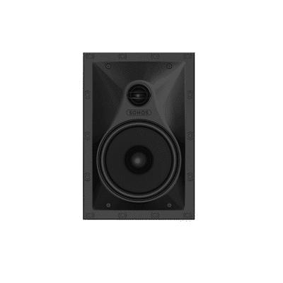 sonos in wall by sonance coppia di diffusori da incasso white