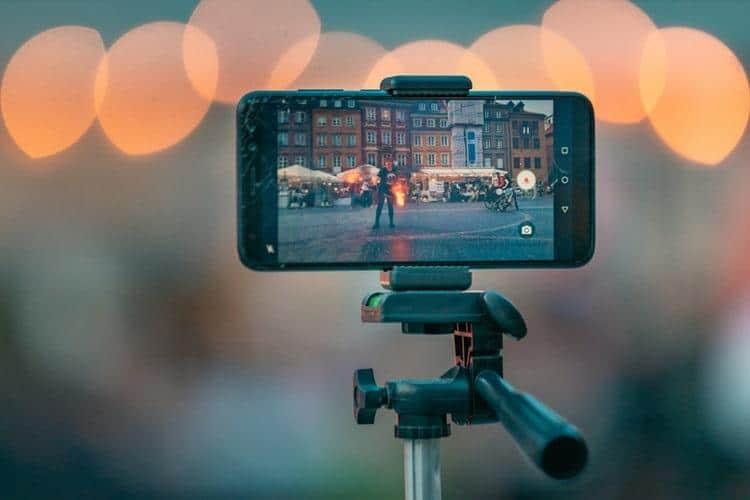 ripresa con smartphone, mobile content creation