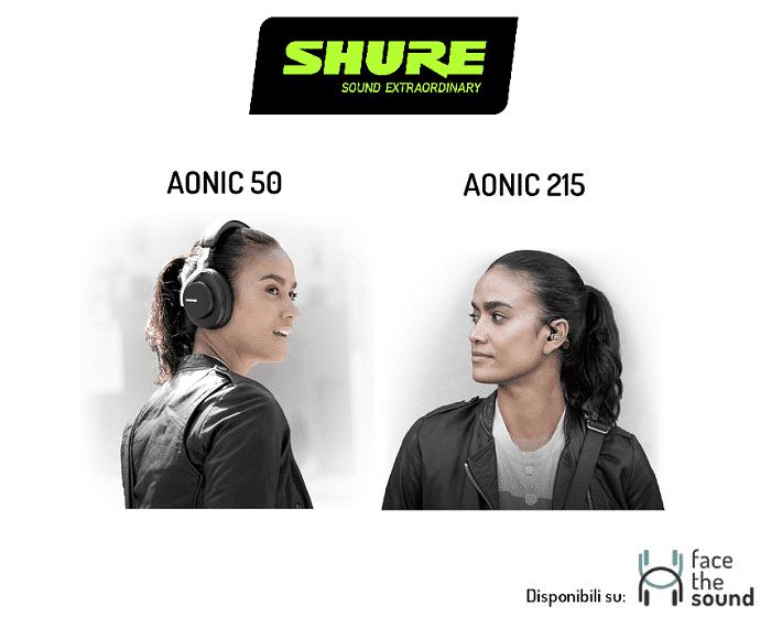 Copertina articolo Aonic 50 e Aonic 215: la nuova linea consumer di cuffie true Wireless firmata Shure