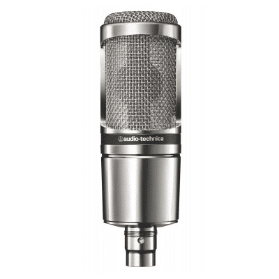 Audio-Technica AT2020V Limited Edition - Chrome