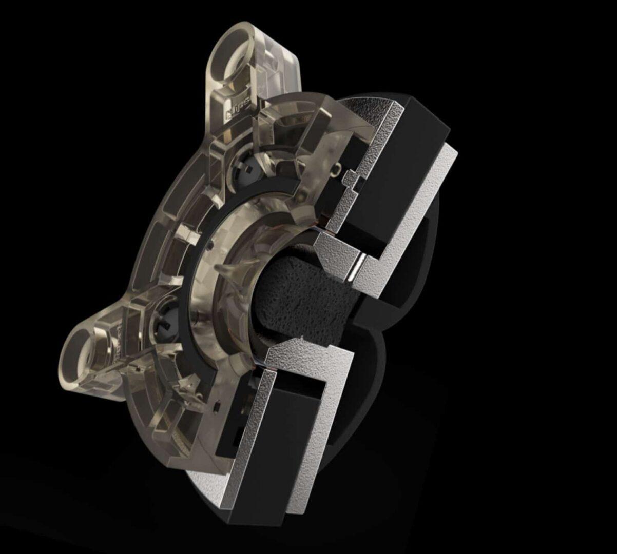 immagine del Tweeter ventilato in titanio con tecnologia LTS serie Reference Premiere