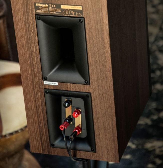 immagine porta tractrix® posteriore con terminali doppi serie Reference Premiere