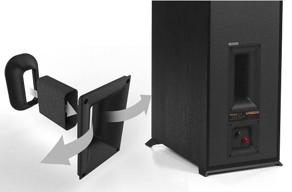 immagine porta tractrix® posteriore serie Reference