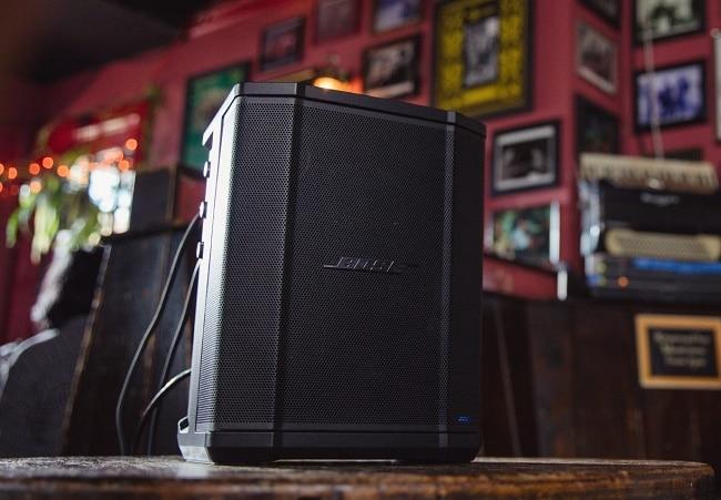 Foto frontale del sistema portatile Bose S1 Pro.