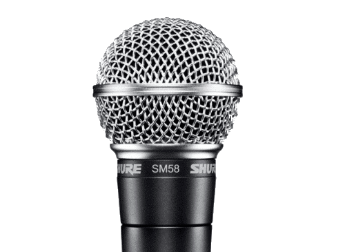 Capsula microfonica di Shure sm58
