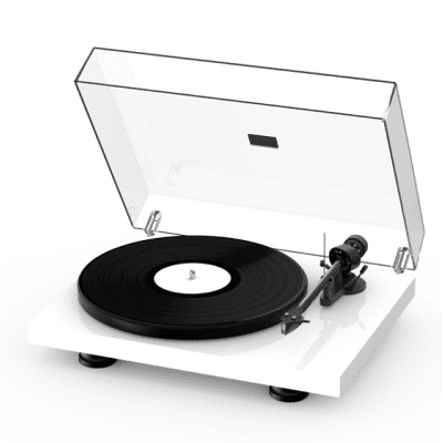 Pro-ject Debut Carbon Evo Bianco Lucido (2)
